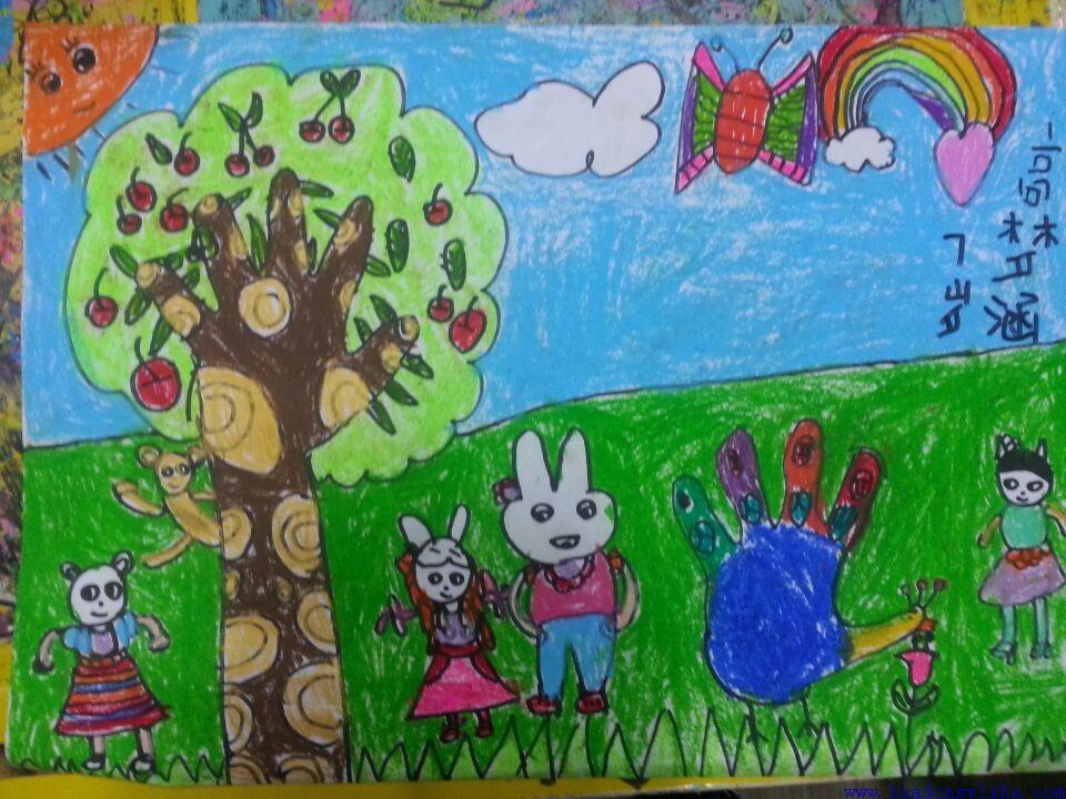华东艺术创意思维儿童画 (52)图片